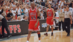 Michael Jordan und Scottie Pippen