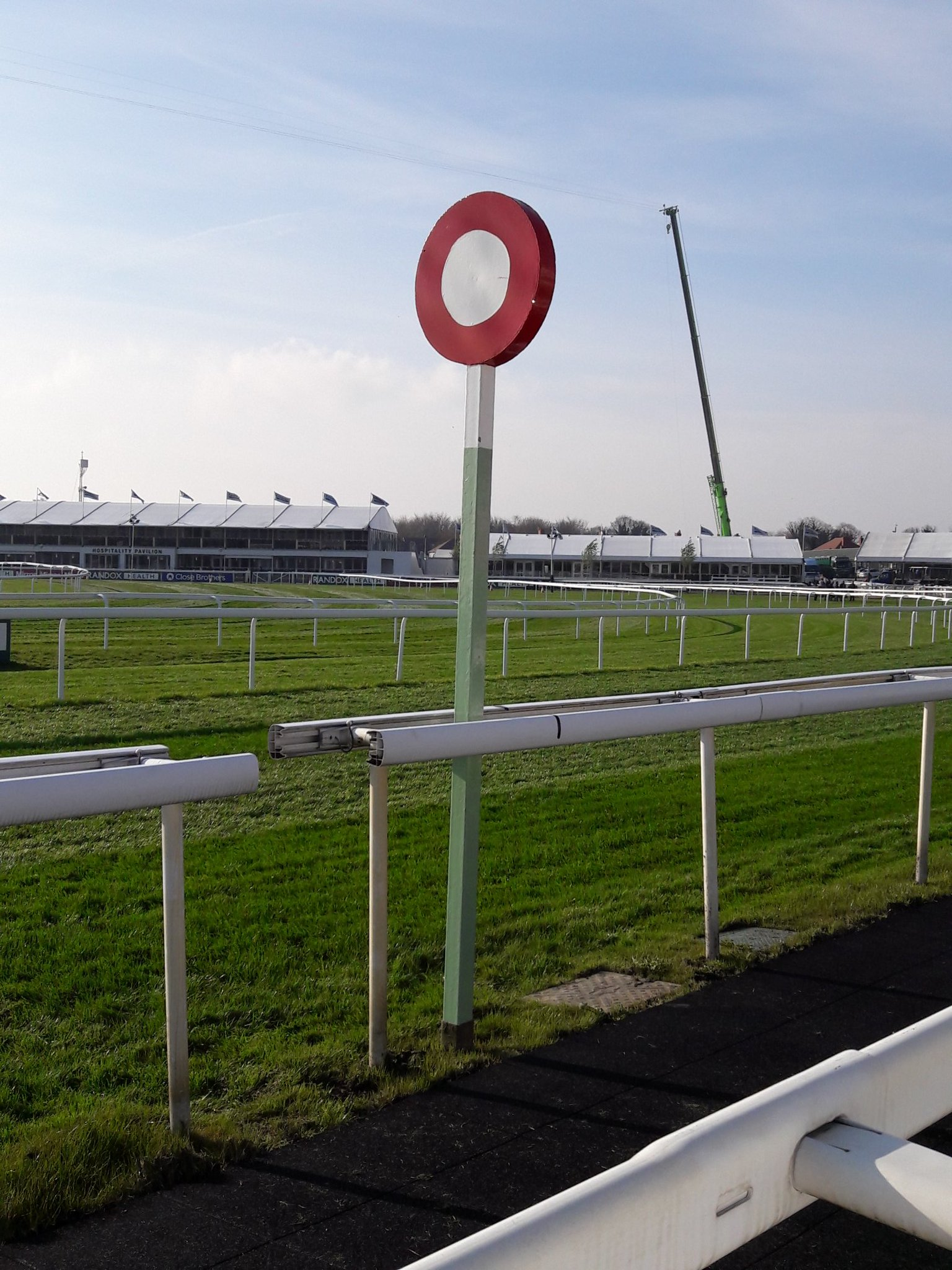 Grand National 2019 Finishing Post