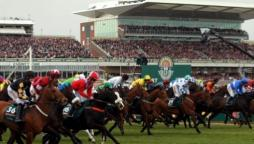 Grand National at Aintree Racecourse