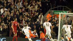 Northampton Town beating Liverpool FC
