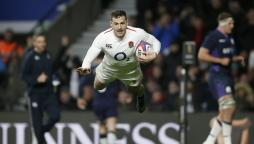 Jonny May scores for six-time Six Nations champions England