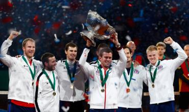 Great Britain winning the Davis Cup