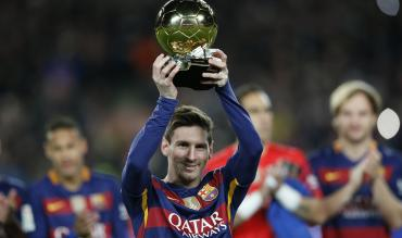 Lionel Messi wins Ballon d'Or