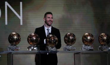 Lionel Messi wins Ballon d'Or award