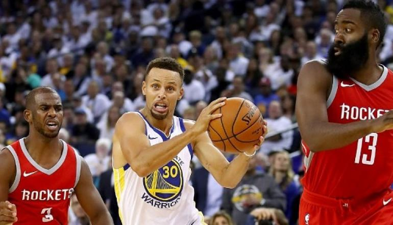 Golden State Warriors vs Houston Rockets