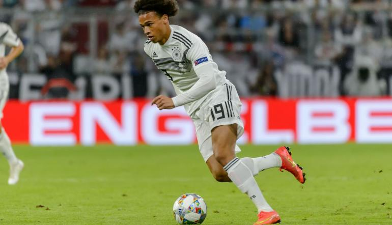 Germany winger Leroy Sane