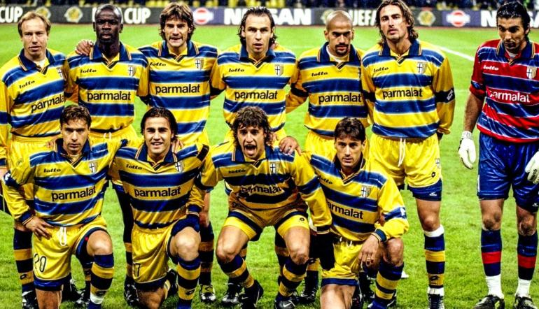 Serie A outfit Parma in 1999