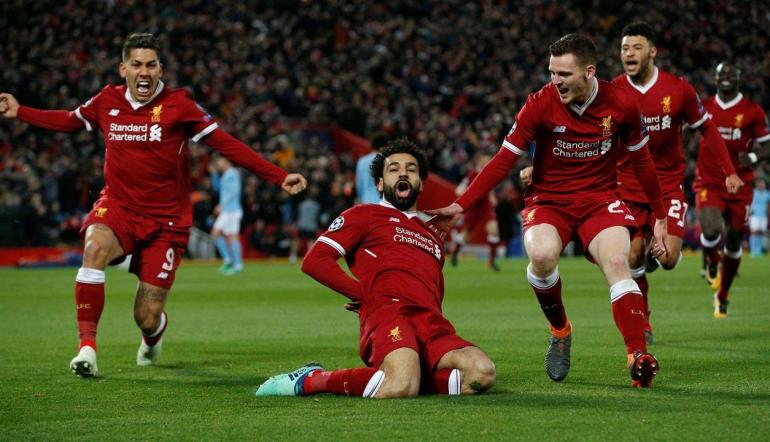 Image result for liverpool anfield premier league win