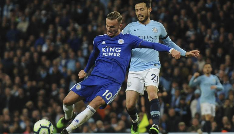 James Maddison - Leicester City vs Manchester City