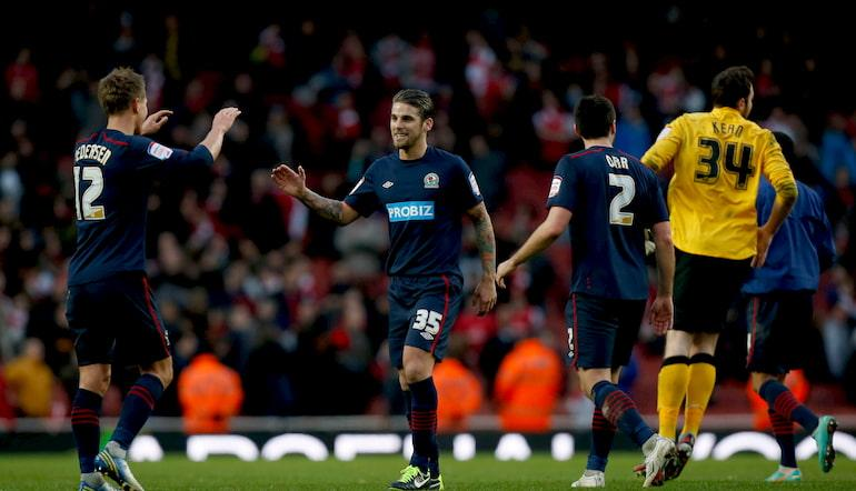 FA Cup Upsets - Blackburn beat Arsenal