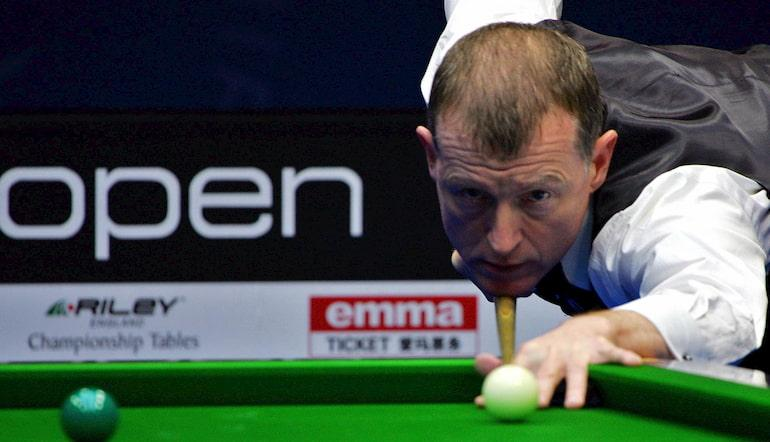 Steve Davis is one of the best British snooker players