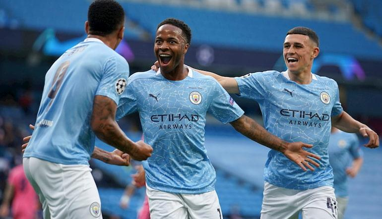 Manchester City Champions League Betting