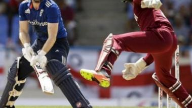 Cricket- England vs West-Indies