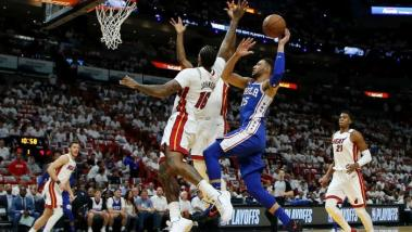 NBA Playoffs: Philadelphia 76ers in action